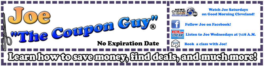8e733b88f105 The Official Site of Joe The Coupon Guy®